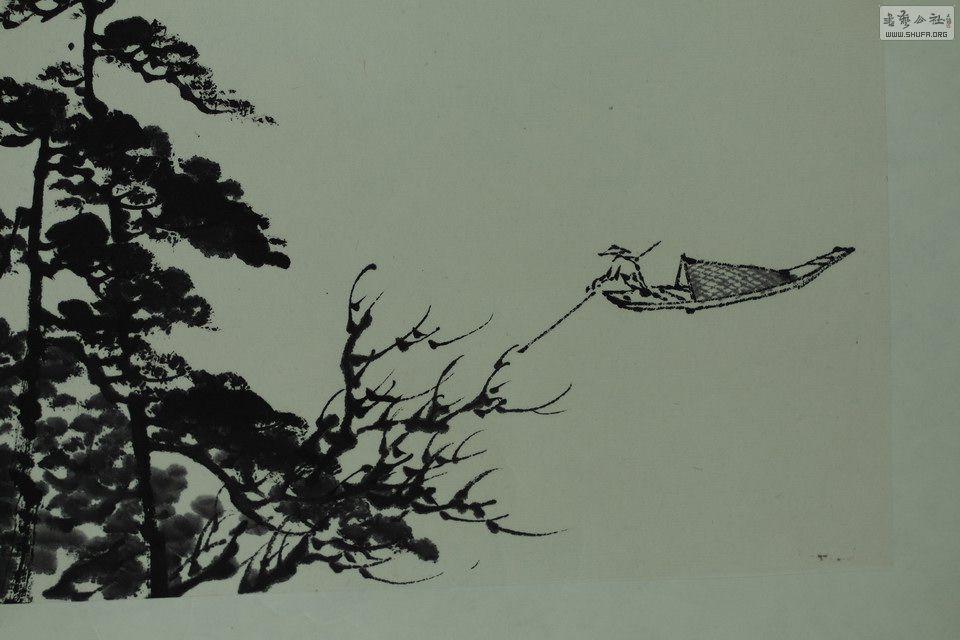 【郭福深】国画山水精品中堂 《秋树高岩》