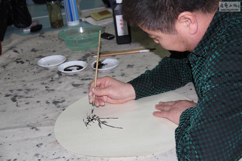 跟着刘彦水老师学山水画图片