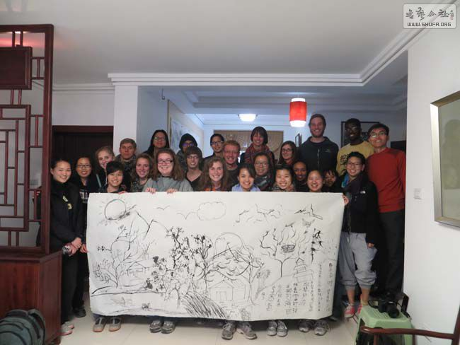 北京大学历史系csi项目美国留学生到桂林考